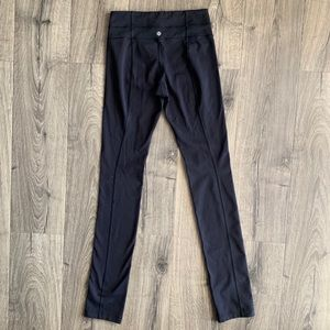 Black Lululemon pants size 4